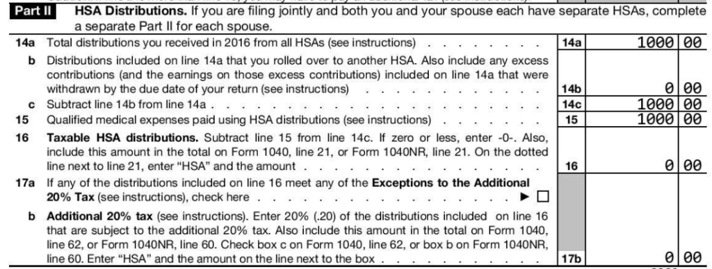 Age 65 HSA distributions for qualified medical expenses