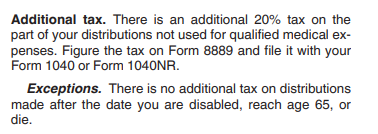 HSA-non-qualified-distribution-tax-and-penalty